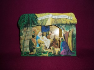 3D Paper Nativity