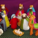 Felt Nativity Set