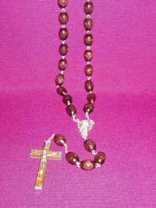 A large rosary suitable for elderly persons