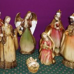 7 Piece Nativity Set