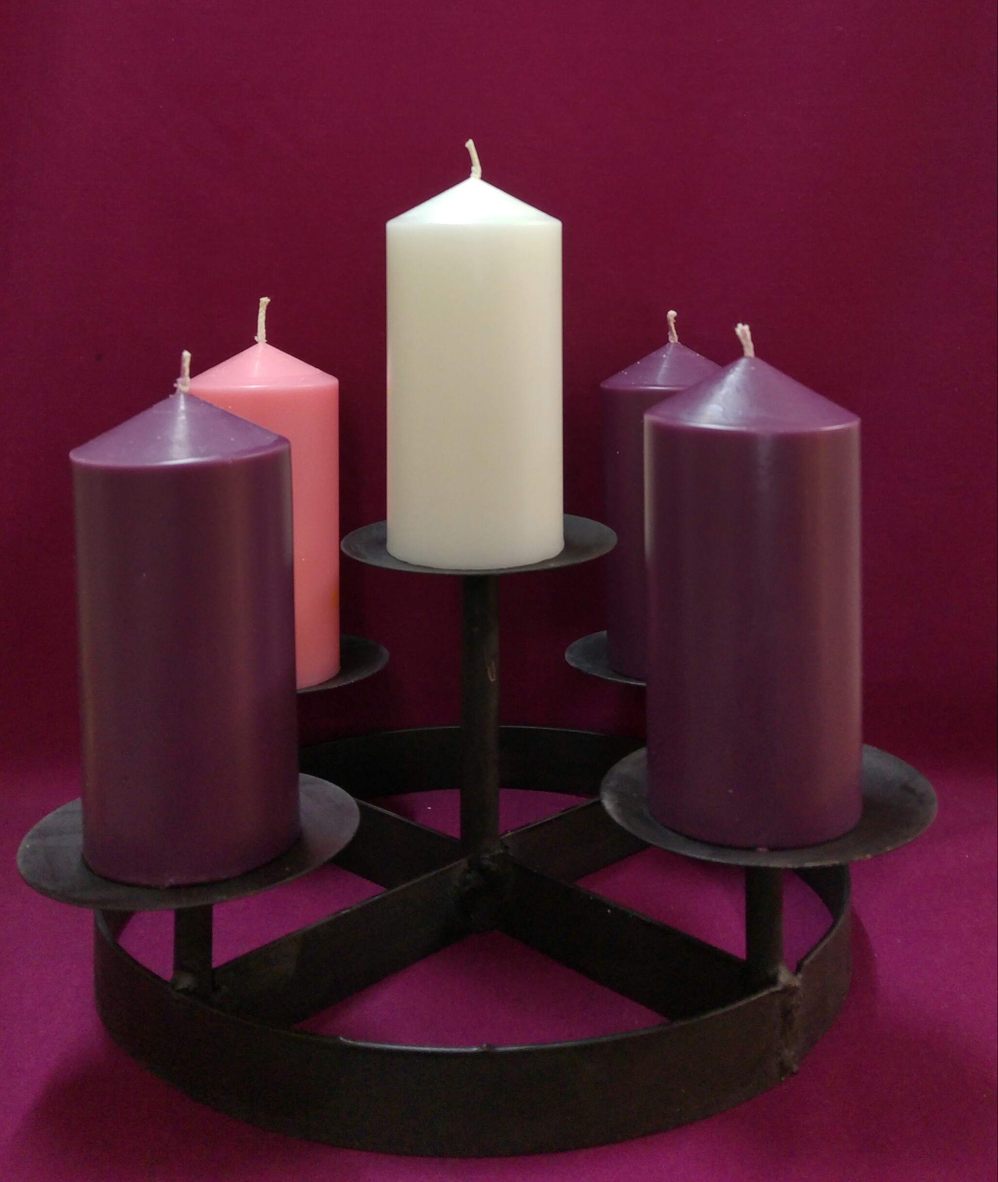 Mp1 Advent Candle Holder Southern Cross Church Supplies