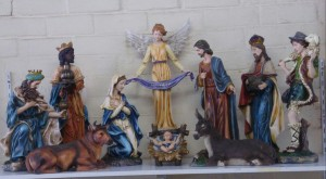50cm tall Nativity Set with 11 figures