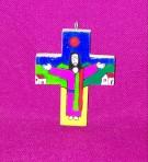Jesus Preaching Pendant Cross