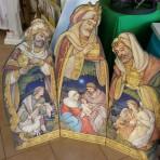 3 Panel Nativity Scene
