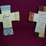 Porcelain Message Cross