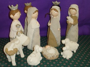 Nativity Set; 11 Figures