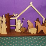 Buttonworks Wooden Nativity
