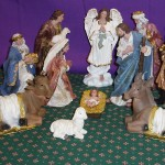 Canvas Nativity Set