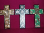 Indigenous Print Crosses
