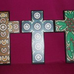 Indigenous Print Crosses