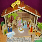 Children's Wooden Nativity Set