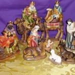 Nativity Set with Camels: 15cm