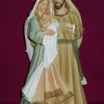 Holy Family Figurine