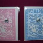 Carmel's Baptism Greeting Cards
