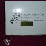 Box of 20 Communion Glasses