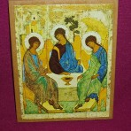 Icon: Rublev's The Trinity