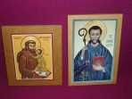 Icons: St Anthony and St Benedict