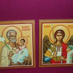 Icons: St Joseph and St Michael
