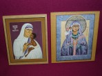 Icons: Mother Teresa and St Monica