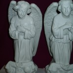 Pair of Kneeling Angels