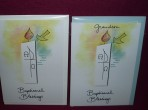Rose's Baptism Greeting Cards