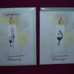 Rose's First Holy Communion Greeting Cards