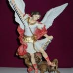 St Michael: 28cm Colour Statue
