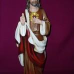 Sacred Heart Statue: 45 cm tall