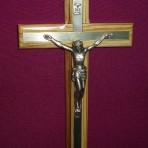 Wall Crucifix: 20cm