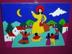 Jesus With Children Plaque