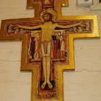 Large San Damiano Wall Crucifix