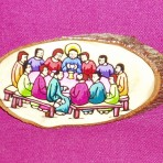 Last Supper Plaque with Magnet