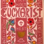 Carmel's First Eucharist Greeting Card: Girl