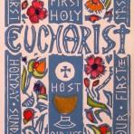 Carmel's First Eucharist Card: Boy