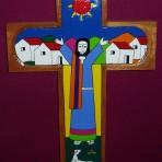 Jesus Preaching Cross: 30cm