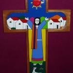 Jesus Preaching Cross