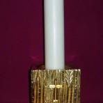 Heavy Cast Metal Candleholder