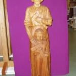 St Joseph with the boy Jesus