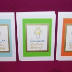 Trisha's Baptism Cards