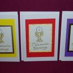 Trisha's Communion Cards